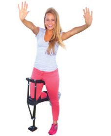 crutches for achilles tendon rupture with aircast